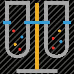 lab test tubes, laboratory, laboratory test tubes, test tubes icon