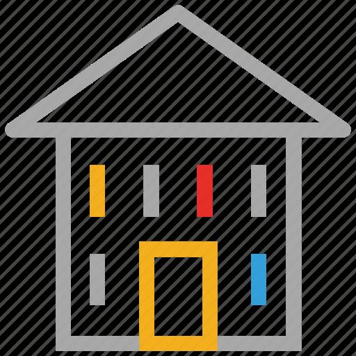 hut, real, shack, villa icon