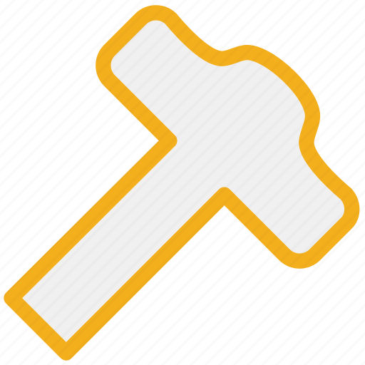 equipment, hammer, repair, tool icon