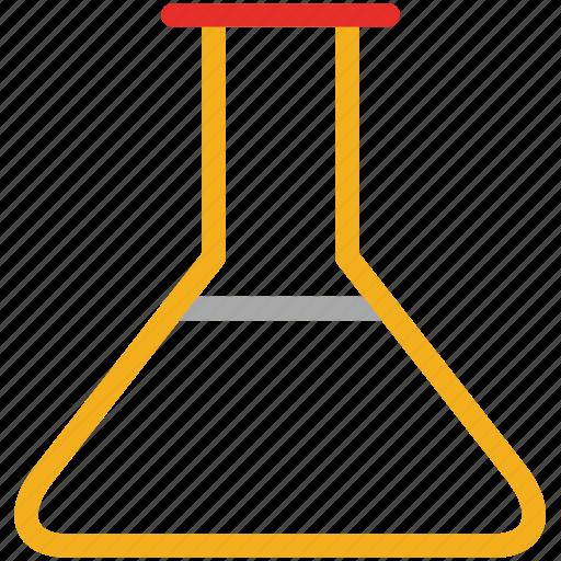 beaker, flask, lab equipment, laboratory icon