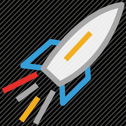 rocket, space, space rocket, spaceship icon