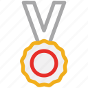 medal, winner, prize, award