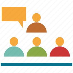 conference, conference room, conversation, discussion icon