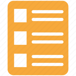document, documents, file, format icon