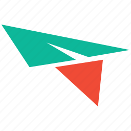fly, paper jet, paper plane, plane icon