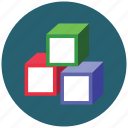 cube, module, playcubes, square icon
