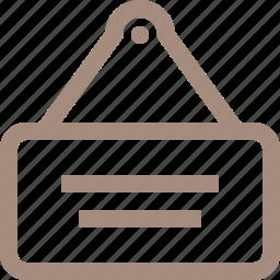 door, table icon