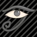 eye, ra, egypt, view