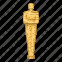 ancient, egypt, egyptian, mummy icon