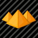 egypt, egyptian, piramid, pyramid icon