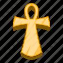 ancient, ankh, egypt, egyptian icon