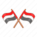 country, egypt, flag, national icon