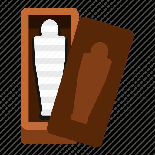 coffin, egypt, egyptian, mummy, pharaoh, sarcophagus, tomb icon