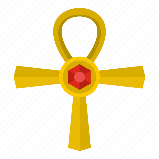 ancient, ankh, cross, egypt, egyptian, life, religion icon