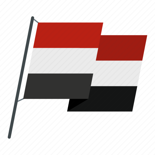country, egypt, flag, national, patriotism, pride, wind icon