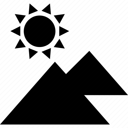 culture, egypt, egyptian, pyramid, sun icon