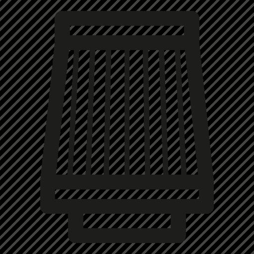 air, auto, car, filter, part, round icon