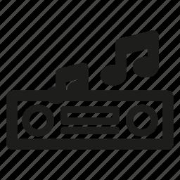 audio, auto, car, media, music, receiver icon