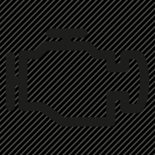 auto, automobile, car, engine icon