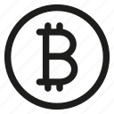 bit, bitcoin, coin, crypto, cryptocurrency, digital currency icon