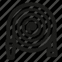 garden, hose icon