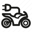 bike, electric, motorbike, motorcycle icon