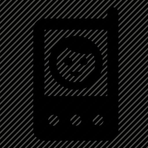 baby, babymonitor, monitor icon