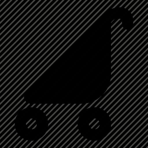 cane, stroller icon