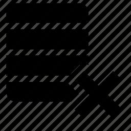 base, delete icon