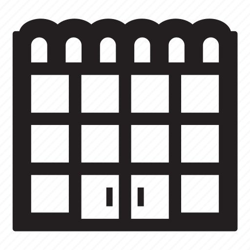 center, shopping icon
