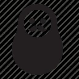 male, matreshka icon