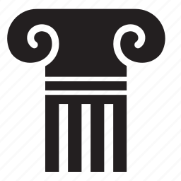 column, greek, pillar icon