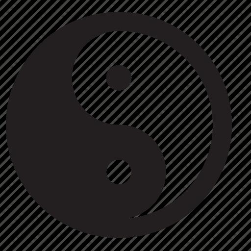 yang, yin icon