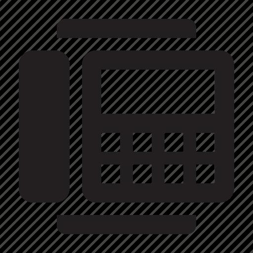 fax, mfu icon