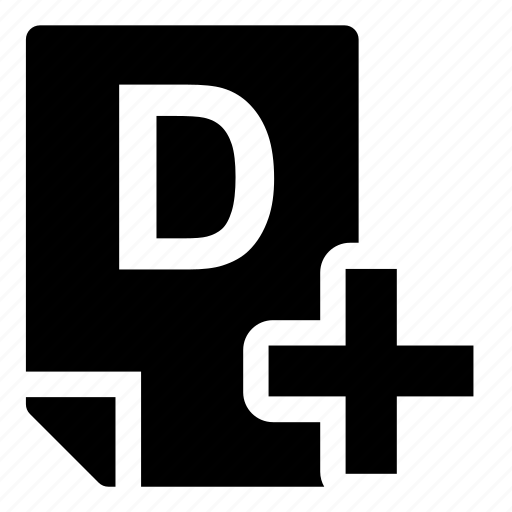 d+, mark icon