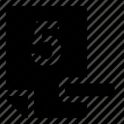 5-, mark icon