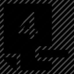 4-, mark icon