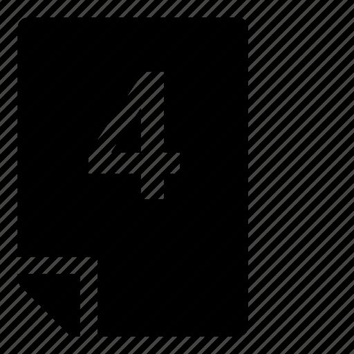 4, mark icon