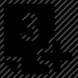 3+, mark icon