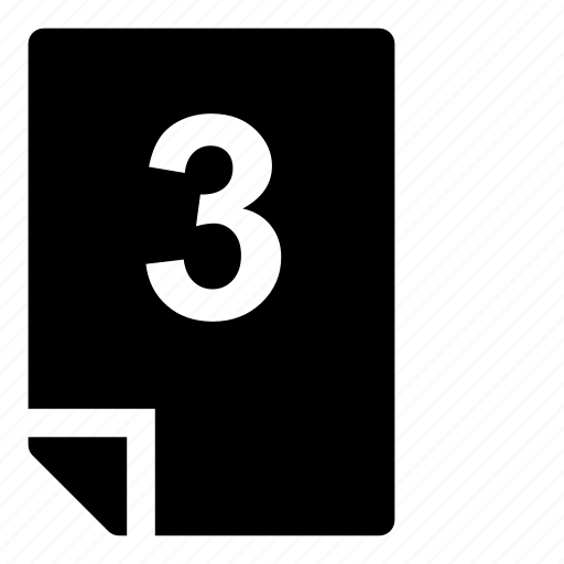 3, mark icon
