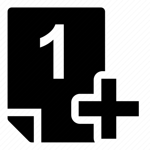 1+, mark icon