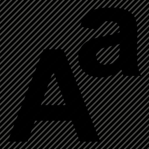 alphabet, language, letters, text icon