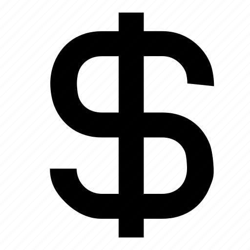 dollar, sign icon