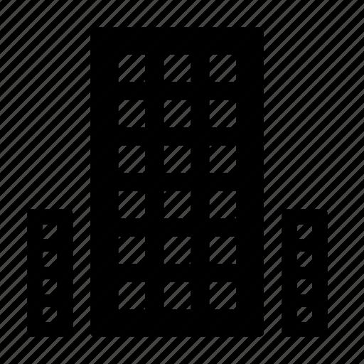 house, skyscraper icon
