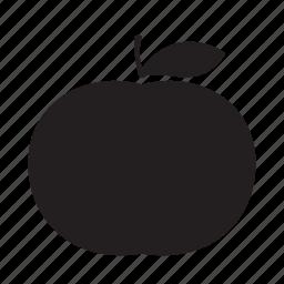 mandarine, tangerine icon