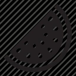 slice, watermelon icon