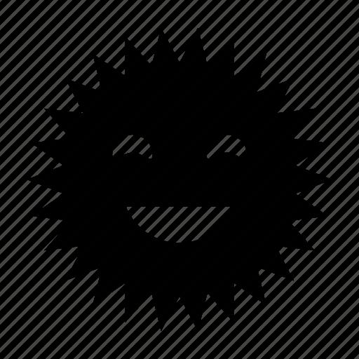 happy, sunny icon