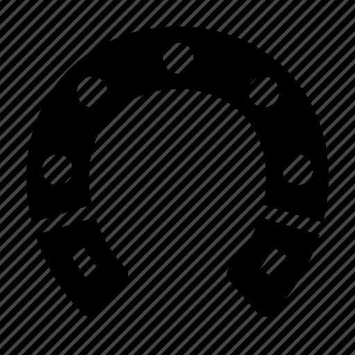 horseshoe, lucky icon