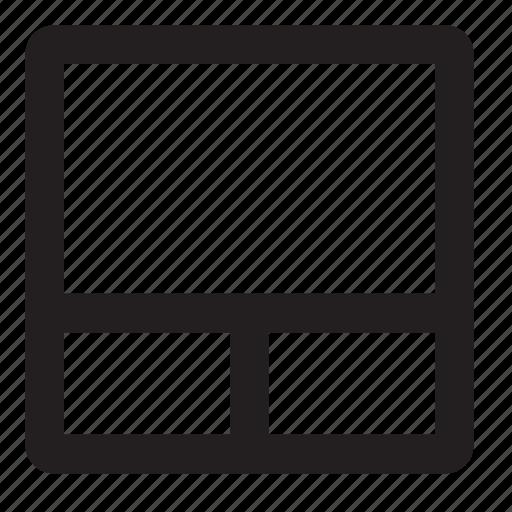 grid, layout icon