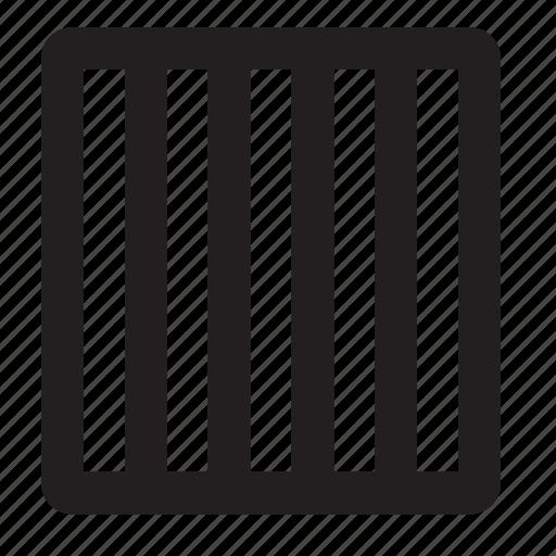 columns, grid icon